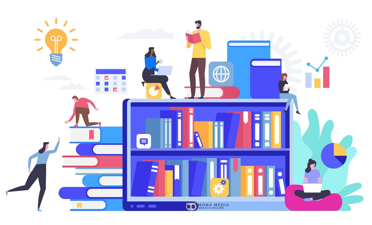 Ebook và website học trực tuyến