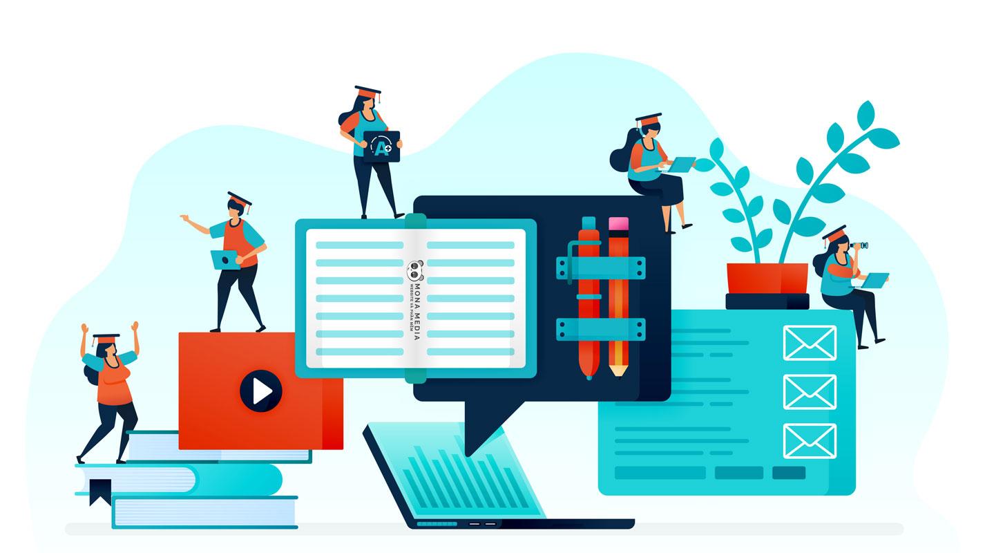 chuẩn bị thiết kế web học trực tuyến