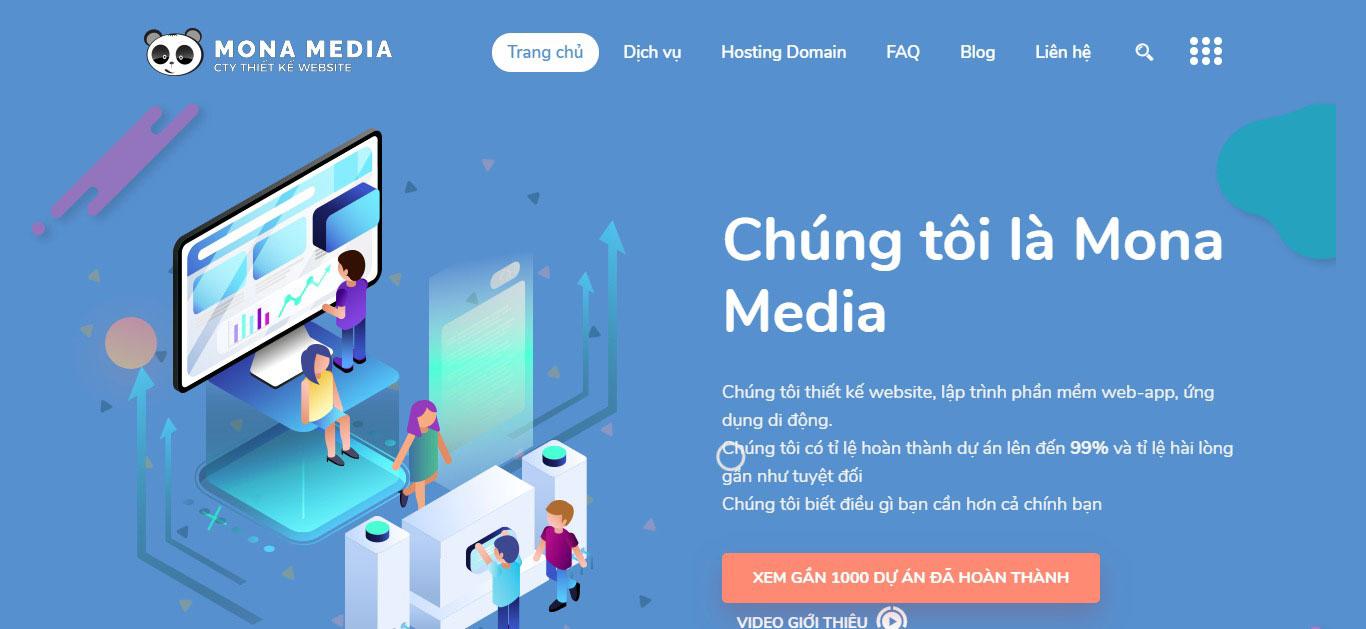 Dịch vụ thiết kế website học trực tuyến