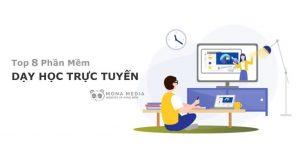 top 8 phần mềm dạy học trực tuyến