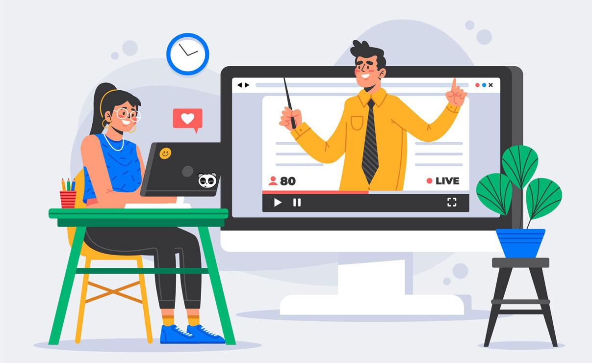 Phương pháp đào tạo học trực tuyến là gì?
